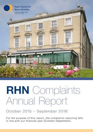 2015-16 complaints annual report