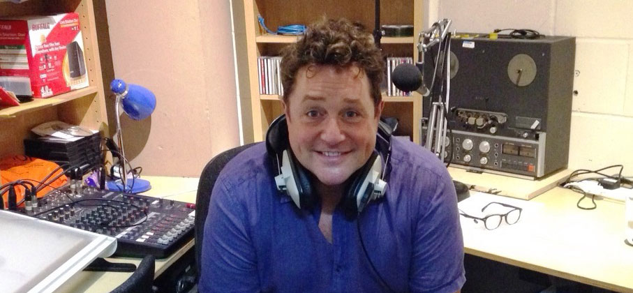 Michael Ball records BBC R4 Appeal