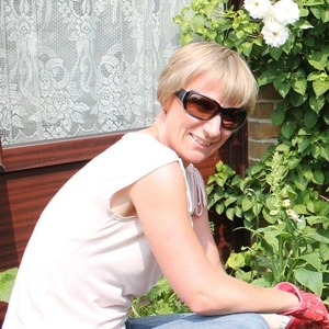 A volunteer gardening at the Royal Hospital for Neuro-disability