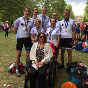 RideLondon-Surrey 100 team