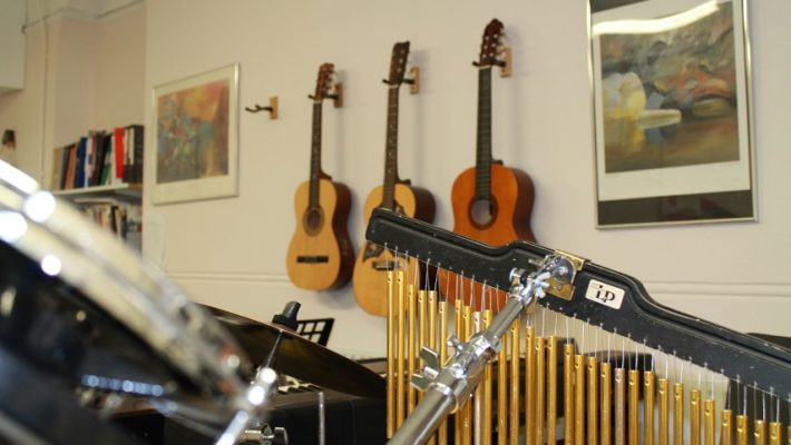 music therapy room
