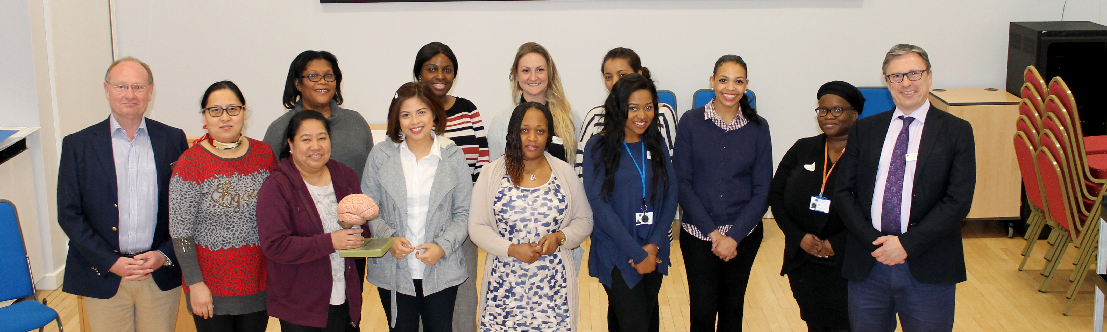 Putney Nurse training starts at the RHN