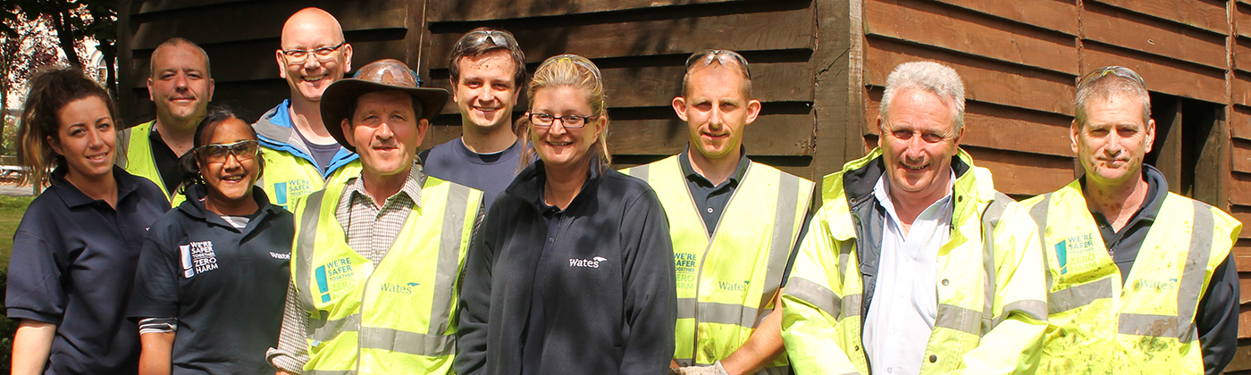 wates corporate responsibility at the RHN