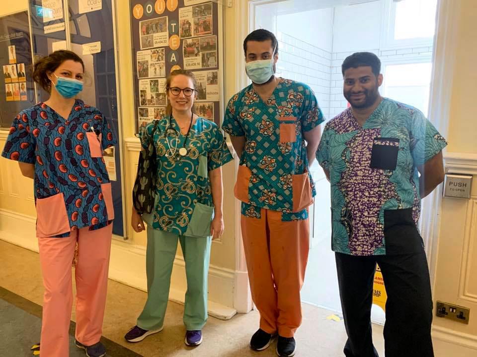 rhn doctors in funky scrubs