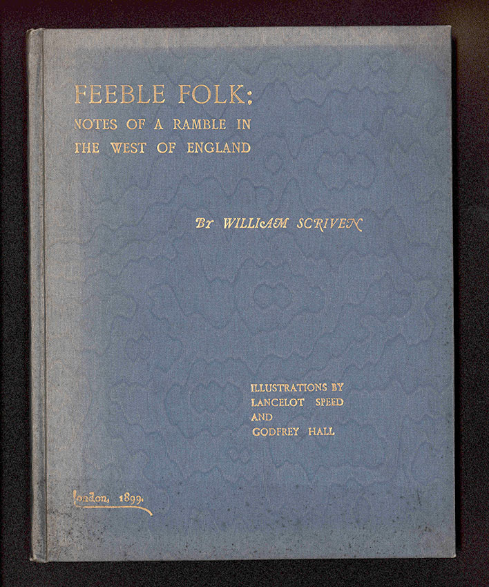 cover of the 1899 book Feeble Folk